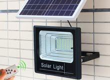 كشاف طاقة شمسية 100 / واط
