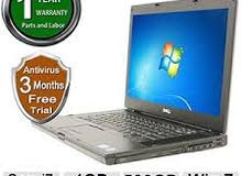 "لاب توب Dell Latitude E6510 Core i7 15.6"" - Silver 4 GB DDR3 SDRAM - 320 GB HDD بحال الوكالة"