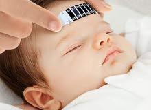 ميزان حرارة شريط للأطفال