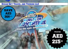 Economic IMG World of Adventure Tickets @ just AED 215