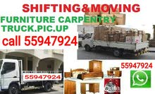 Moving shifting Carpentry