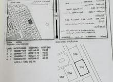 للبيع أرض صناعية في صحار العوهي