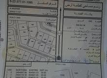 ارض في سناو مخطط 17
