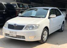 مطلوب سيارة للبيع تويوتا كرولا 2007