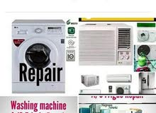 A/C,FRIDGE AND WASHING MACHINE REPAIR