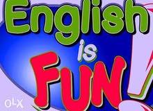 مدرس لغة انجليزية   لتدريس جميع المناهج