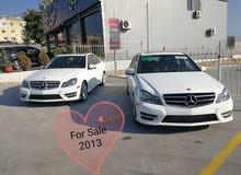 Mercedes C250-2013-fully loaded