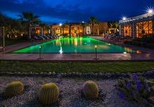 فيلا فخمة للإيجار 5 غرف عصرية بمدينة مراكش الساحرة