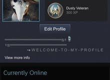 حساب ستيم يحتوي على اكتر من 90 لعبه steam