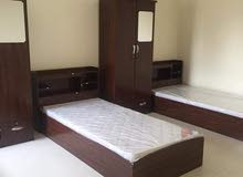 single bed with medical mattress many collar and design available