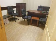 مكتب راقي جدا ومجهز على اعلى مستوى للبيع او البدل بشقه على نفس المستوى فالقاهره