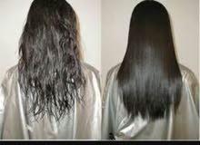 خبيرة كيراتين وبروتين موهير لتنعيم الشعر