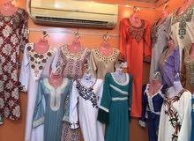 محل خياطة وتفصيل ملابس نسائية