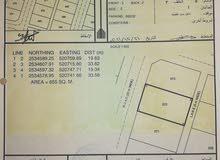 ارض 655م للبيع في جبرين 6