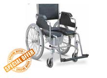 Commode WheelChair (high Quality) عرباية مع جلاسة