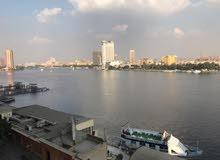شقه على النيل مفروشه شيك