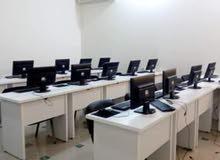 تجهيزات كاملة  لمركز تدريب (اثاث و اجهزة)
