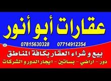 شقه للاجار طابق اول منطقه حي الرضا