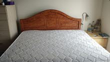 King Size bed with Orthopedic mattress