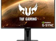 للبيع شاشة Asus السعر 190   TUF Gaming VG259QM  280hz    للتواصل