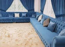 making repairing majlis sofa couttan wallpaper rollar