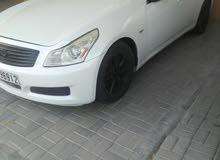 سياره انفنيتي 2008 للبيع اللون ابيض مطلوب 9000 نهائي