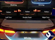إضاءات خلفية تفاعلية للسيارات