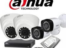 عرض على نظام كاميرات 2 ميجا (4 كاميرات) من Dahua