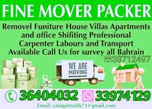 House shifting Villas Apartments and office Shifting Professional Carpenter
