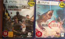 Maneater & Tom Clancy's Rainbow Six: Siege Deluxe Edition