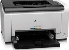 طابعةملونة (usb+wi fi) نظيفة HP LaserJet CP1025nw Color