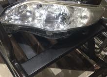 فوانيس اماميه سياره تويوتا كورولا مودل 2011