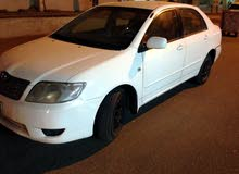 White Toyota Corolla 2005 for sale