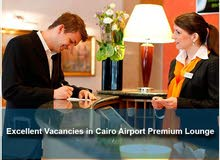 Excellent Vacancies in Cairo Airport Premium Lounge