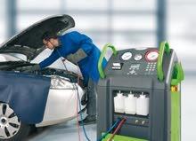 عرض الصيف - تعبئة غاز المكيف فقط ب 20 دينار - شركة نحو التغيير لصيانة السيارات