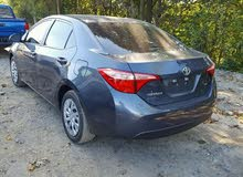 2017 New Corolla with Automatic transmission is available for sale