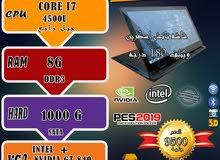 LENOVO EDGE 15 CORE I7 جيل رابع /شاشه تاتش اسكرين وبتلف 180 درجه /للجيمز والبرامج