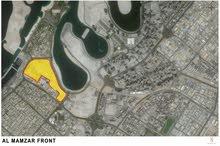 ارض سكنية للبيع فى الممزر دبى قريبة من حديقة شاطئ الممزر وجزر ديرة