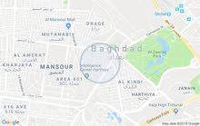 قطعة ارض للبيع القادسية المساحة 203م الواجهه 13 م والنزال 16 م
