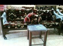 جلسات تراثيه شعبية وكراسي حديد