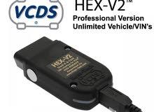 اجهزة الكشف VAG HEX-V2 (VCDS 18.9.0 )l