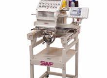 NEW SWF Embroidery Machine ماكينه تطريز راس واحد جديدة