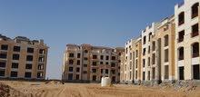 شقة للبيع بالتجمع 128م مع 77 م جاردن وقسط علي 6 سنوات