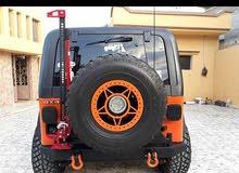 Orange Jeep Wrangler 1992 for sale