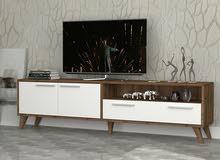 طاولة تلفزيون صناعة تركي والتوصيل مجاني