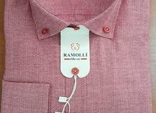 قميص رجالي تركي SLIM FIT ماركة RAMOLI
