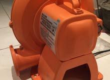 مكيف فريون نقال + مولد كهرباء للبيع + مضخة هواءية لنطاطة كبيرة
