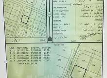 للبيع ارض كورنر في معبيلة 4 بلوك 7
