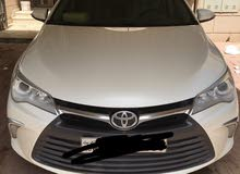 Toyota Camry 2017 For Rent - White color