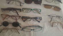نظارات طبيه اوروبيه ..اطارات متعدده المقاسات .. والعدسه عليك